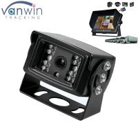 Cheap 18 IR lights 24V HD Truck reverse camera with aviation connector , 15M IR distance for sale