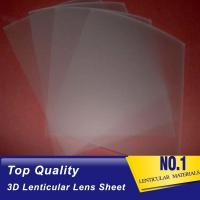 Cheap 161 Lpi 51X71CM Lenticular Lens Film 0.25mm PET 3D Sheet Lenticular Lenses material for 3d lenticular printing service for sale