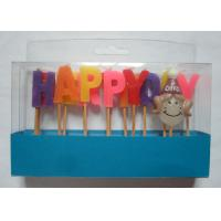 Cheap Mix Colors Funny Happy Birthday Alphabet Toothpick Candles For Girls' Party for sale