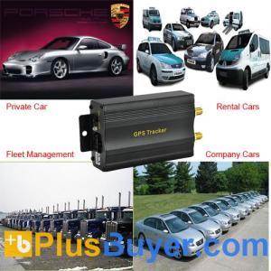China Quadband GPS Car Tracker (SMS, Geo-fencing Control) on sale