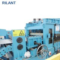 Durable Steel Coil Cut To Length Line , Pickled Plate Stainless Steel Slitting Machine