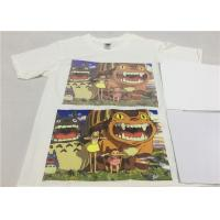Cheap Sticky 3G Jet Opaque Dark Transfer Paper A4 Size High Durability For Clothing for sale