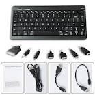 Cheap 5V 10000mA Bluetooth Keyboard Portable Battery Power Packs - E26067 for sale