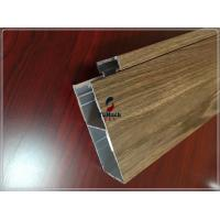 Cheap Customized Industrial Commereial 6063 T5 Aluminum Extrusion Profiles For Building Outside for sale