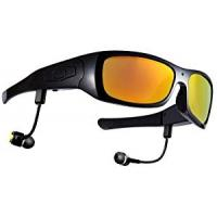 Bluetooth Headset Hidden Camera Glasses with 16GB SD Card for Android Smartphone