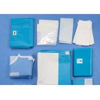 Cheap Laparoscopy Abdominal Medical Procedure Packs Disposable Sterile Surgical Drapes for sale
