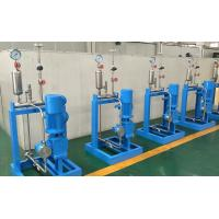Cheap Skid Mounted Pumping Systems With Chemical Metering / Dosing Pumps for sale