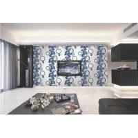 Cheap 70cm width Top quality waterproof mould proof modern styles PVC vinyl wallpaper for sale