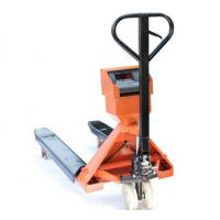 Cheap Powder Coated Steel Pallet Truck Scales 2T Electronic Digital Industrial Pallet Scales for sale