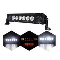 Buy cheap 2018 New Style Single Rows LED Light Bar 5W CREE with Skull Logo for Truck Accessories Using from wholesalers