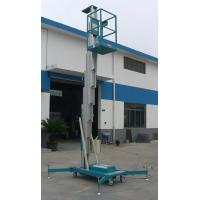Cheap Sole Mast Aluminum Aerial Work Platform 125Kg Load and 8 Meters wholesale