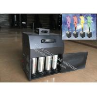 Cheap Four Color Stage Fire Machine , 200W DMX512 stage flameProjector for sale