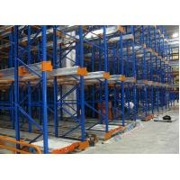 Cheap Freezers Radio Shuttle Racking 2 Aisles Heavy Load Industrial Pallet Racks Customized wholesale