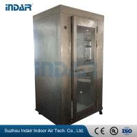 China Stainless Steel Air Shower Room Self - Contained HEPA Filter Equipped For Food Medical on sale
