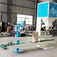 China Semi Auto 600bags/Hour 1.1kw Grain Packing Machine on sale