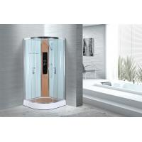 Cheap Comfort Waterproof Curved Corner Shower Enclosure Kits Free Standing Type for sale