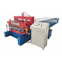 Cheap Roof Tile Double Layer Roll Forming Machine Electric Tension 380V 50 Hz 3 Phase for sale