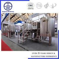 Cheap SS304 SS316L Craft Beer Brewing Equipment 200L - 1000L Thickness 2.0-3.0 mm for sale