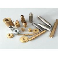 Cheap Lathe Turning Brass CNC Turned Parts , Full Inspection Custom Machined Parts for sale