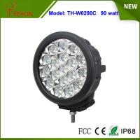 Cheap 7 inch IP67 high lumens 90w led driving light Spot light lamp for offroad jeep,4x4 tractor for sale