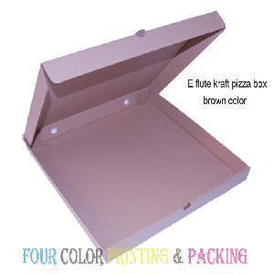 Cheap Brown Paper Pizza Box (PZ-1026) for sale