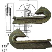 Buy cheap rail anchor/rail parts from wholesalers