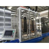 China 3-19MM Float Glass And Low - E Glass Washing Machine With Overturn Tilting Table on sale