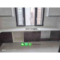 Cheap Customized Artificial Stone Marble Kitchen Countertop Stone Solid Surface Countertop for sale