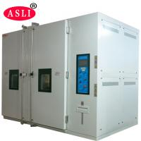 China Big Size High Temperature Oven / Convenient Transportation Walk In Temperature Chamber on sale