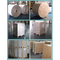 FSC Bleached Kraft Paper Rolls 36inch 80gsm 120gsm White Wrapping Paper
