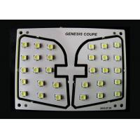 Cheap Genesis Coupe Vehicle LED PCB Dome Light Module 120 Degree Angle With SMD LEDs for sale