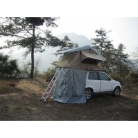 Cheap Anti Water Car Roof Mounted Tent With 2M Extendable Aluminum Ladder for sale