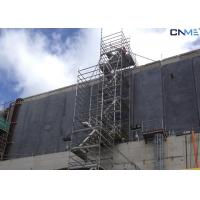 Cheap Aluminium Stair Type Concrete Shoring Systems , Lightweight Scaffolding Systems for sale
