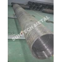 Cheap UNS N04400 Nickle Alloy and Carbon Steel Clad Pipe For Chemical Process Equipment for sale