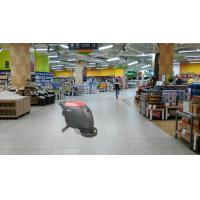 Cheap Supermarket Floor Scrubber Dryer Machine With Held And Big Water Tank for sale