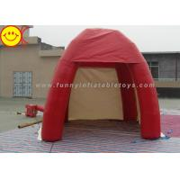 Outdoor Lawn Event Mini 3m Inflatable Tent PVC Red Inflatable Dome Tent With
