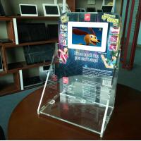 Quality 7 inch HD LCD acrylic counter display wholesale
