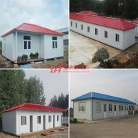 All Kinds Of Prefabricted House Slope Roof Container Villa Sentry Box Fence Barrier Mobile House Custom Steel Structure