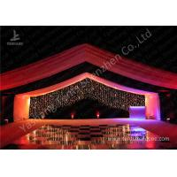 Cheap Luxury Marquees For Weddings Decorated with Noble and Gorgeous Linings and Lightings for sale