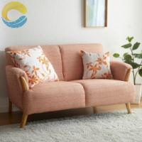 Cheap Small Space House Fabric Signature Cotton Sofa & Armchair For Flat for sale