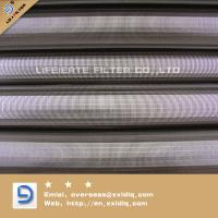 Cheap v wire wrapped Johnson screen stainless steel for sale