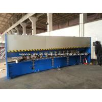 China Manual Roll Grooving Machine Sheet Metal Shear H4C Control System on sale