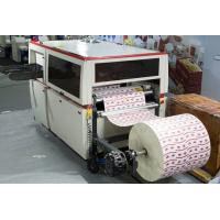 Buy cheap Roll Paper Automatic Die Cutter , Commercial Die Cutting Machine With Creasing from wholesalers