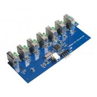 China USB 2.0 / 3.0 Electronic Circuit Board Assembly For 7 Port USB Hub on sale