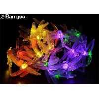China Dragonfly 20 Led Decorative LED String Lights AA Battery 4.8M Length Holiday Decoration on sale