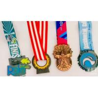 Cheap OEM Design Half Marathon Medals, Custom Competition Medals Sports Theme for sale