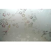 Cheap Acid Etching Patterned Frosted Tempered Glass For Decorative CE for sale