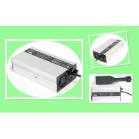 Cheap Black Silver 24V 5A Li Battery Charger For LiFePO4 Li - Ion Batteries With Aluminium Case for sale