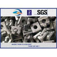 Quality Railroad Fsatener Crane Rail Clips For North Africa , K Type KPO MTH Railway wholesale