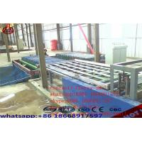 Cheap Decorative Magnesium Oxide Board Production Line Capacity 2000 Sheets / Shift for sale